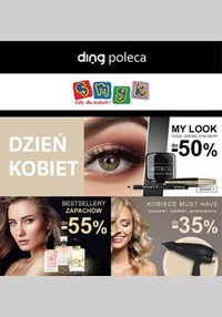 Gazetka promocyjna Smyk - Dzień Kobiet w sklepach Smyk! - ważna do 22-03-2020