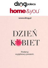 Gazetka promocyjna Home&You - Dzień Kobiet w Home&You - ważna do 08-03-2020