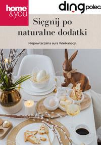 Gazetka promocyjna Home&You - Sięgnij po naturalne dodatki z Home&You - ważna do 16-03-2020