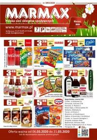 Gazetka promocyjna Marmax - Oferta na marzec w Marmax - ważna do 21-03-2020