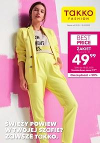 Gazetka promocyjna Takko Fashion - Świeży powiew w Takko  - ważna do 18-03-2020