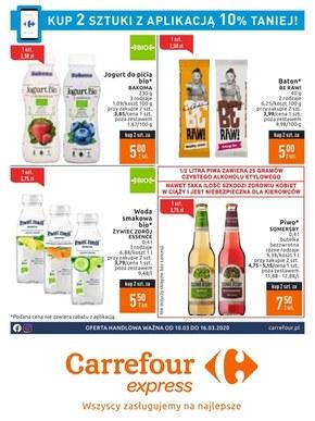 Oferta handlowa - Carrefour Express