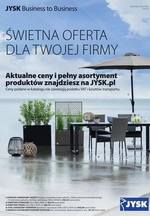 Gazetka promocyjna Jysk - Oferta dla Twojej firmy w Jysku