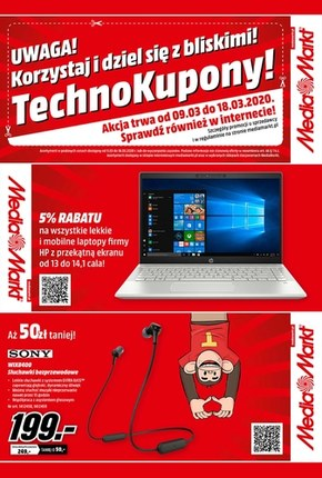 TechnoKupony w Media Markt!