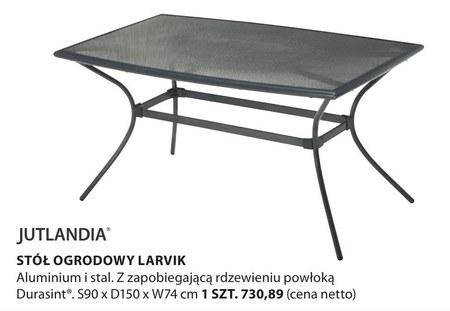 Stół ogrodowy Larvik