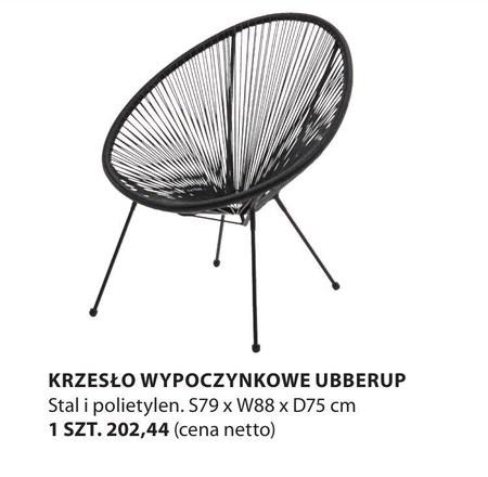 Krzesło Ubberup