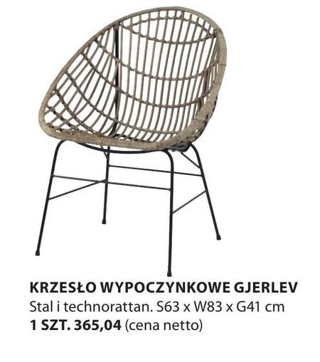 Krzesło Gjerlev
