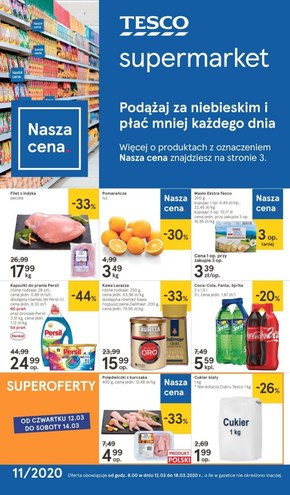 Hity miesiąca w Tesco Supermarket