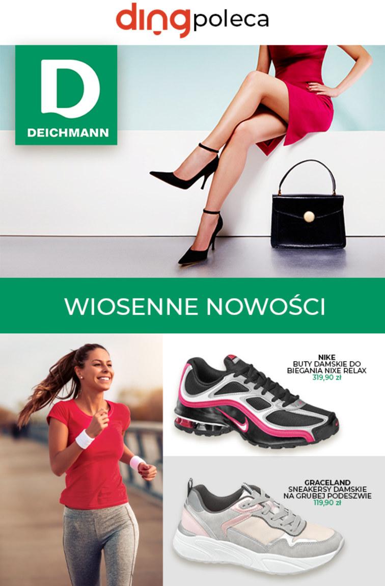 Deichmann Gazetka Promocyjna oferty, rabaty, kupony [08.03