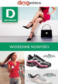 Gazetka promocyjna Deichmann - Wiosenne nowości w Deichmannie - ważna do 22-03-2020