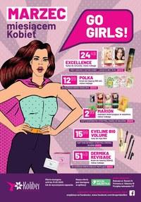 Gazetka promocyjna Drogerie Koliber - Miesiąc kobiet w Drogerii Koliber - ważna do 31-03-2020