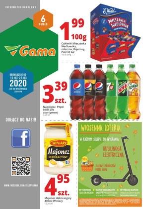 Promocje w sklepach Gama