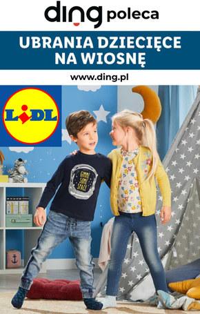Ubrania dziecięce na wiosnę w Lidlu!