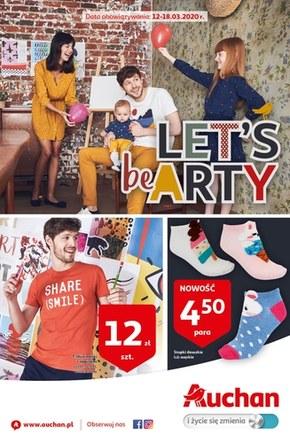 Let's be arty z Auchan!