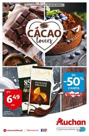 Gazetka Auchan dla miłośników czekolady!