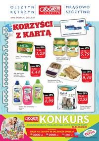 Gazetka promocyjna Społem Olsztyn - Promocje w PSS Olsztyn! - ważna do 23-03-2020