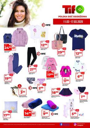 Promocje w sklepach Tifo!