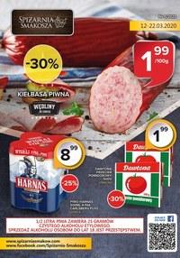 Gazetka promocyjna Spiżarnia Smakosza - Gazetka promocyjna Spiżarnia smakosza - ważna do 22-03-2020