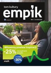 Gazetka promocyjna EMPiK - Tom Kultury - Empik - ważna do 24-03-2020