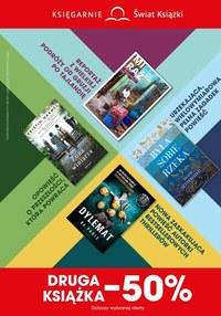 Gazetka promocyjna Księgarnie Świat Książki - Książki o połowę taniej w Księgarniach Świat Książki - ważna do 14-04-2020