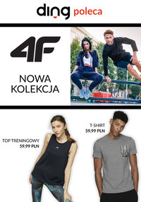 Gazetka promocyjna 4F - Nowa kolekcja sportowa 4F - ważna do 22-03-2020