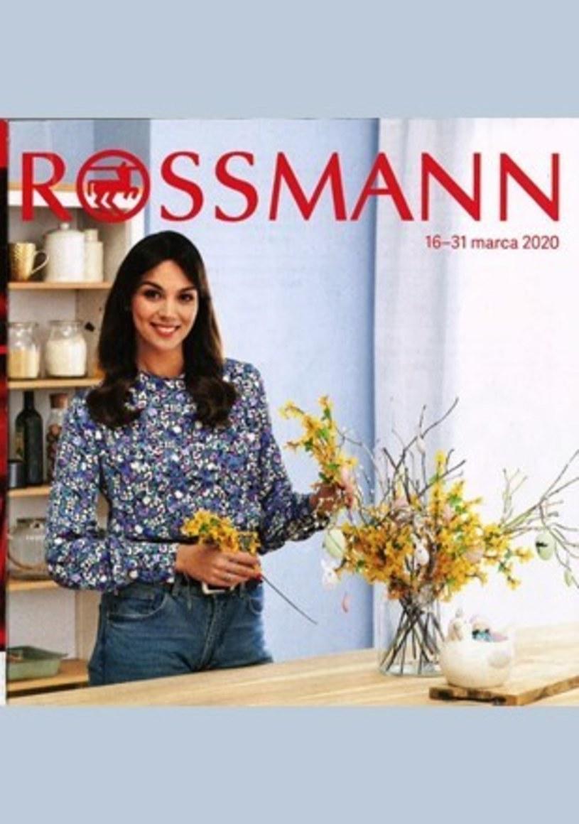 Gazetka promocyjna Rossmann - ważna od 16. 03. 2020 do 31. 03. 2020