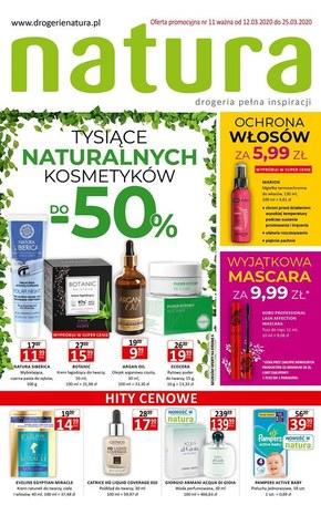 Tysiące naturalnych produktów w Drogerii Natura