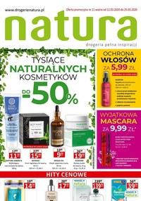 Gazetka promocyjna Drogerie Natura - Tysiące naturalnych produktów w Drogerii Natura - ważna do 25-03-2020