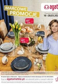 Gazetka promocyjna Agata  - Marcowe promocje - ważna do 25-03-2020