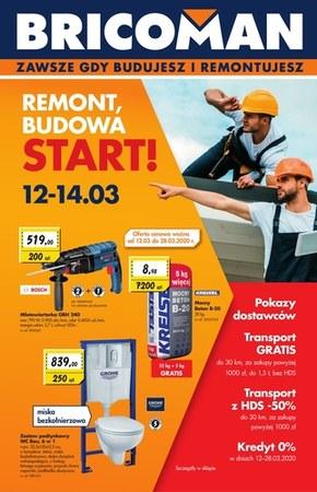Remont, budowa, start! - Bricoman