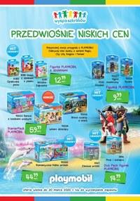 Gazetka promocyjna Wyspa szkrabów - Przedwiośnie niskich cen w sklepach Wyspa Szkrabów! - ważna do 20-03-2020
