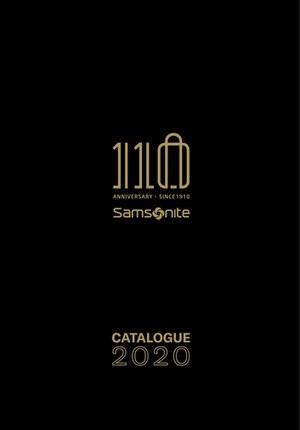 Gazetka promocyjna Samsonite - 110 lat Samsonite!