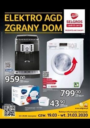 Oferta RTV, AGD w Selgros Cash&Carry