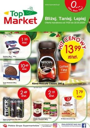 Promocje w sklepach Top Market