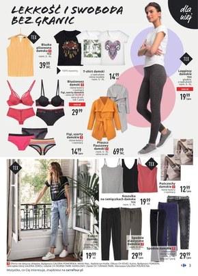 Rabaty na ubrania w Carrefour