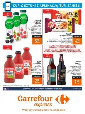 Okazje z aplikacją w Carrefour Express
