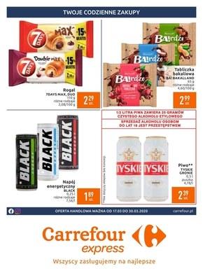Obniżki cen w Carrefour Express