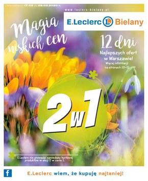 Magia niskich cen w E.leclerc Bielany