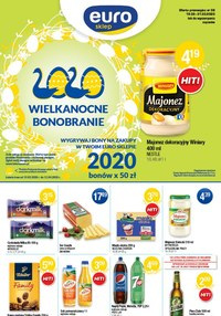 Gazetka promocyjna Euro Sklep - Wielkanocne Bonobranie w Euro Sklepie - ważna do 31-03-2020