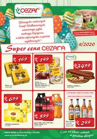 Gazetka promocyjna Delikatesy CEZAR - Super ceny Cezara! - ważna do 11-04-2020