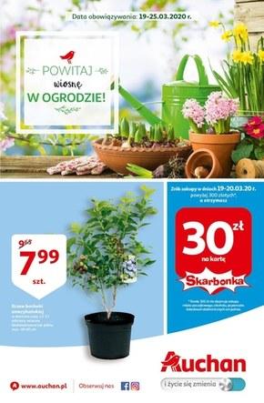 Powitaj wiosnę w ogrodzie z Auchan!