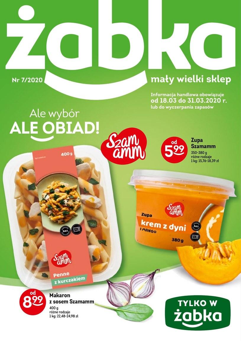 Gazetka promocyjna Żabka - ważna od 18. 03. 2020 do 31. 03. 2020