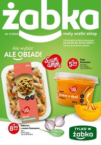 Gazetka promocyjna Żabka - Ale wybór, ale obiad! - Żabka - ważna do 31-03-2020