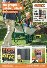 Gazetka promocyjna OBI - Czas na projekt ogród z OBI! - ważna do 31-03-2020