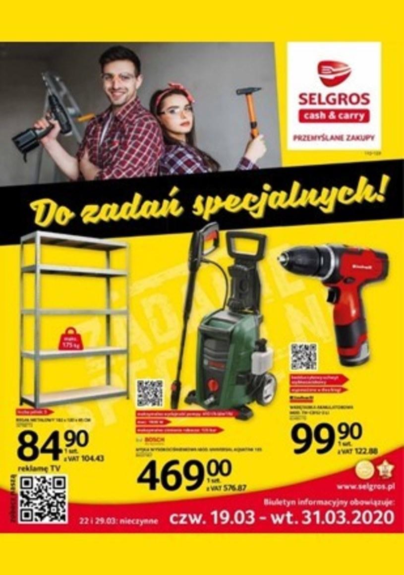 Gazetka promocyjna Selgros Cash&Carry - ważna od 19. 03. 2020 do 31. 03. 2020