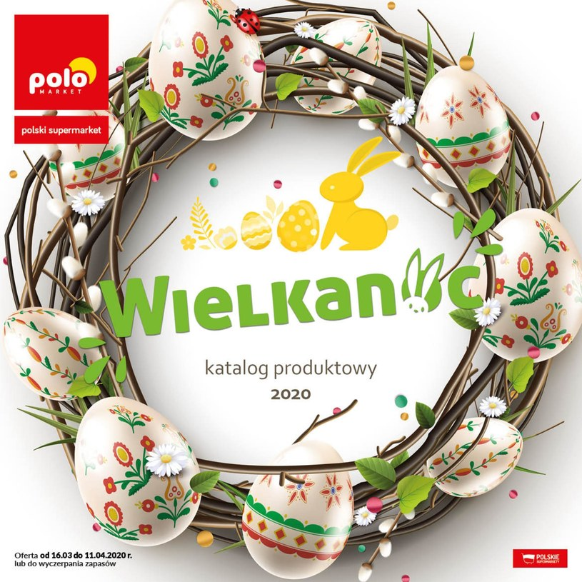 Gazetka promocyjna POLOmarket - ważna od 16. 03. 2020 do 04. 04. 2020