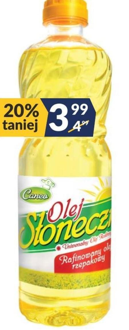 Olej rzepakowy Caneo