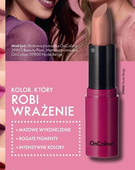 Pomadka do ust Oriflame
