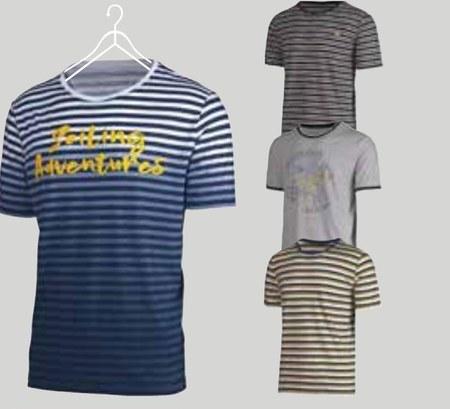 T-shirt męski Straight Up
