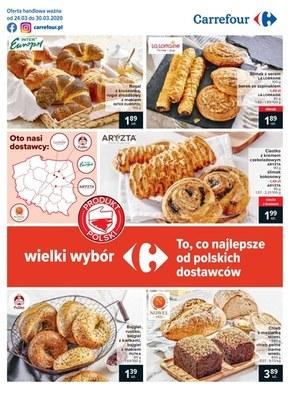 Wielki wybór w Carrefour